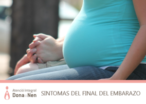 síntomas final de embarazo